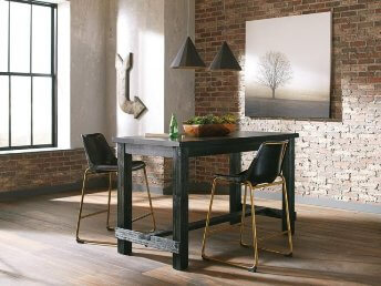 Coaster Scott Living Rustic Cappuccino Finish Counter-Height Table