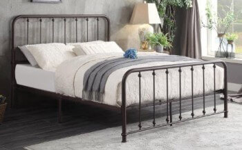 Homelegance Elegant Metal Queen Bed
