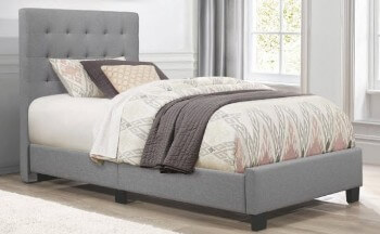 Homelegance Lawrence Grey Twin Bed