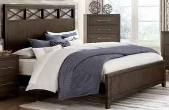 Homelegance Griggs Dark Cappuccino Finish King Bed