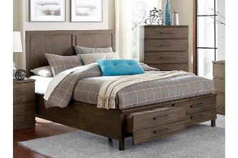 Homelegance Bracco Hardwood Queen Storage Bed