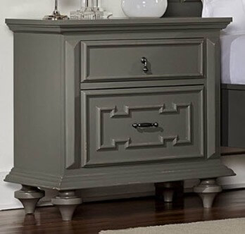 Homelegance Marceline Grey Nightstand