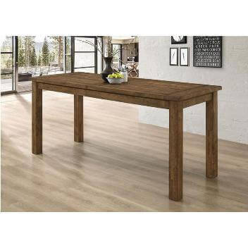 Coaster Coleman Counter-Height Hardwood Dining Table