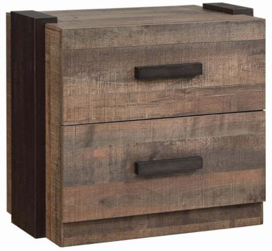 Coaster Weston Wood-Look 2-Drawer Nightstand