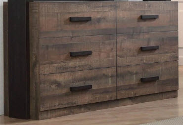 Coaster Weston Wood-Look 6-Drawer Dresser