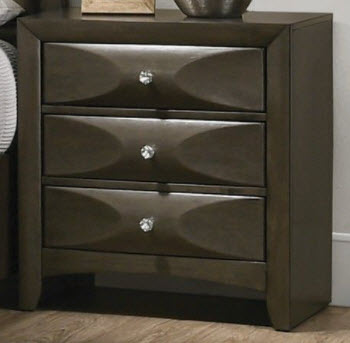 Coaster Salano Charcoal Nightstand