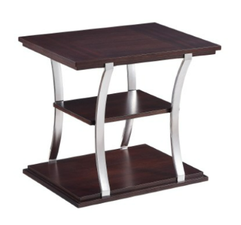 Homelegance Bevan Dark Cherry End Table