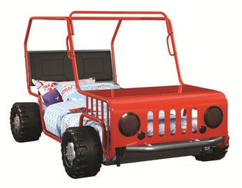 Coaster Red Jeep Twin Bed