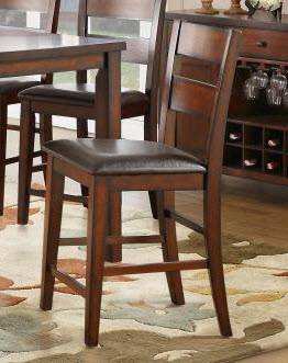 Homelegance Mantello Espresso Finish Barstools (set of 2)