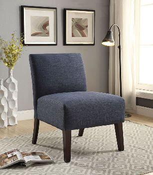 Acme Blue Accent Chair