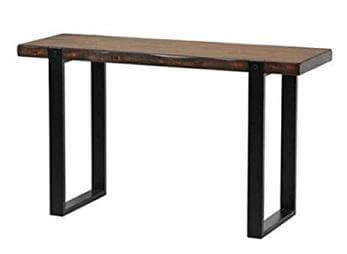 Coaster Live Edge Look Console Table