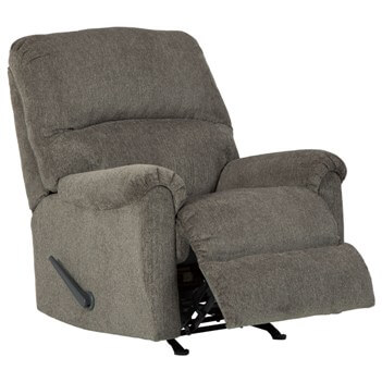 Ashley Dunlop Slate Rocker/Recliner