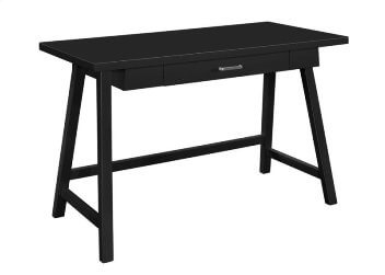 Coaster Black Desk with Drawer