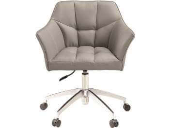 Coaster Silver Desk Chair