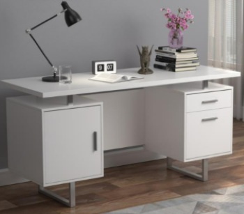 Coaster Lawtey White Desk