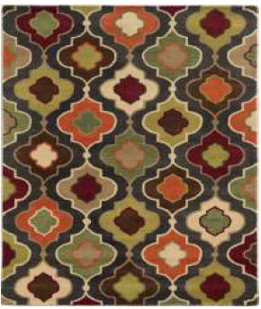 Rizzy Bradberry 5x8 Handtufted Wool Area Rug