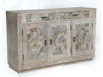 Crestview Bengal Manor Reclaimed Mango Sideboard