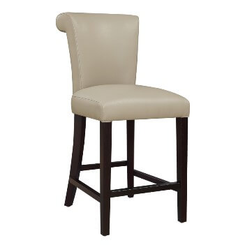 Emerald 24-Inch Briar Taupe Barstools (set of 2)