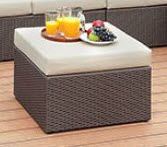 Furniture of America Davina Outdoor Ottoman