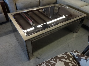 Bassett Sophia Mirrored Coffee Table