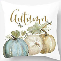 Autumn Pumpkins Throw Pillow