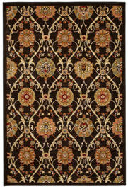 Mohawk Barre Black 9-6 x 13 Area Rug