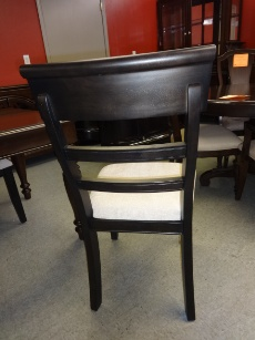 Emerald A La Carte Black Ladderback Side Chairs (set of 2)