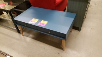 Top-Line Blue Coffee Table