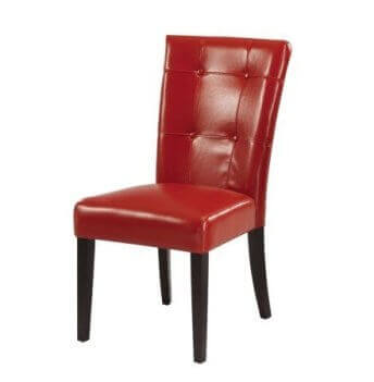 Modus Bossa Red Side Chair