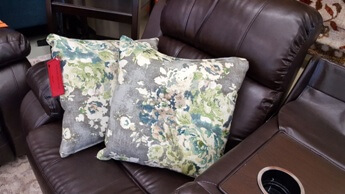 Best Furniture Throw Pillows in Cindersmoke (set of 2)