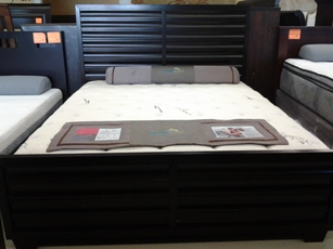 Contour Cappuccino Finish CA King Platform Bed