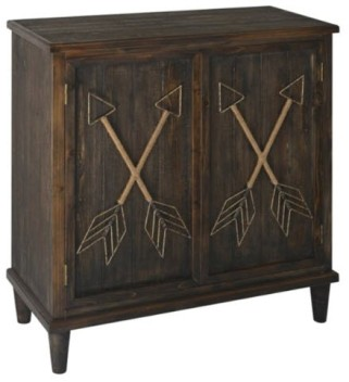 Crestview Arrows Console Cabinet