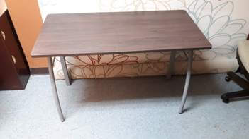 Hardwood-Look Desk/Table