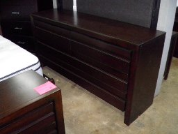 Element Dark Chocolate 6-Drawer Dresser