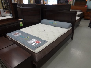 Element Chocolate Finish Queen Platform Bed