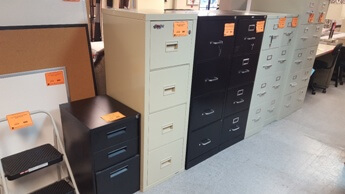 Fire & Impact 4-Drawer File Cabinet