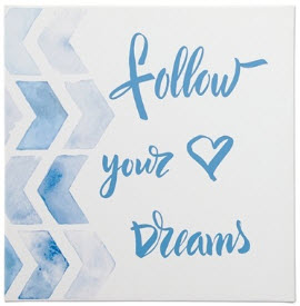 Ashley Follow Your Dreams Wall Art
