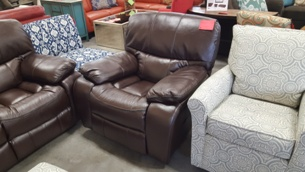 Homelegance Pecos Dark Brown Gel Match Leather Power Recliner