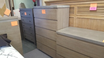 Modus Kelsey Chest with Cement Top (blemish)
