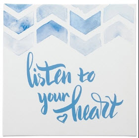 Ashley Listen to Your Heart Wall Art