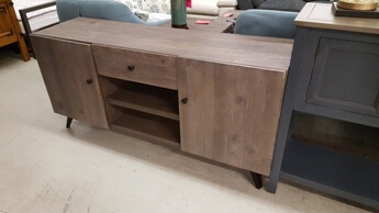 Modus Nevada Distressed Pine TV Console