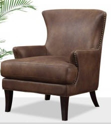 Emerald Nola Accent Chair in Dixon Java