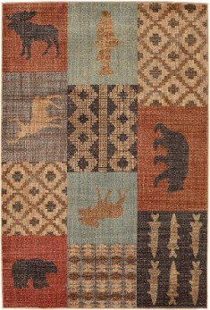 Mohawk Nome Multi 5-3 x 7-10 Area Rug (Destinations Collection)