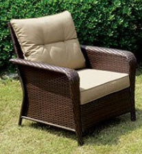 Furniture of America Jocelyn Outdoor Chair