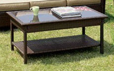 Furniture of America Jocelyn Outdoor Coffee Table