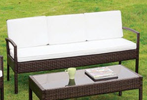 Furniture of America Makenna Outdoor Sofa