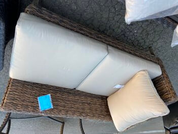 Casual Living PVC Wicker Chaise