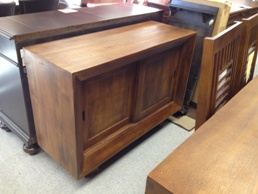Modus Palindrome Chestnut Finish Sideboard