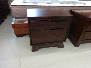 Modus Portland Espresso Finish 2 Drawer Nightstand