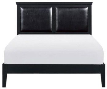 Homelegance Seabright Black Queen Bed